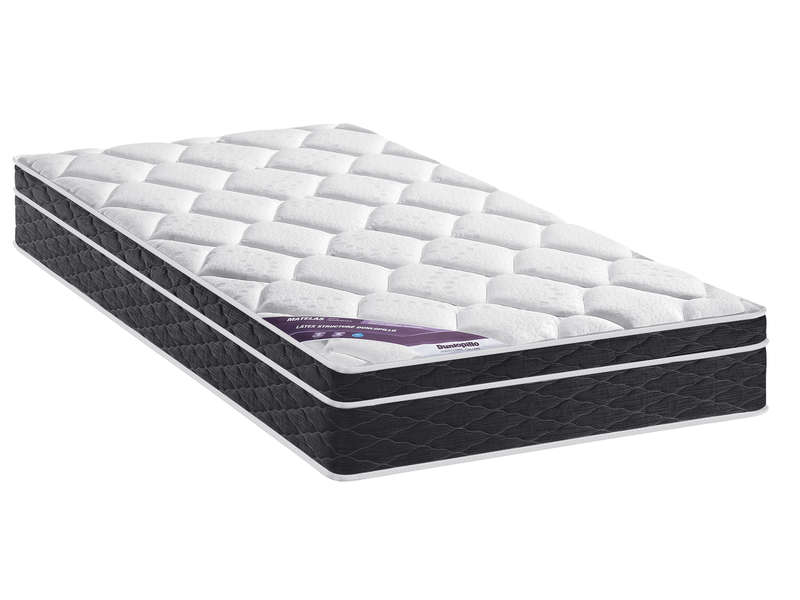 matelas sommier 90x190 cm dunlopillo precious moment. Black Bedroom Furniture Sets. Home Design Ideas