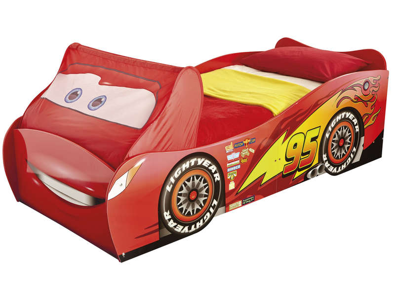 lit voiture 90x190 200 cm disney cars vente de lit enfant conforama. Black Bedroom Furniture Sets. Home Design Ideas
