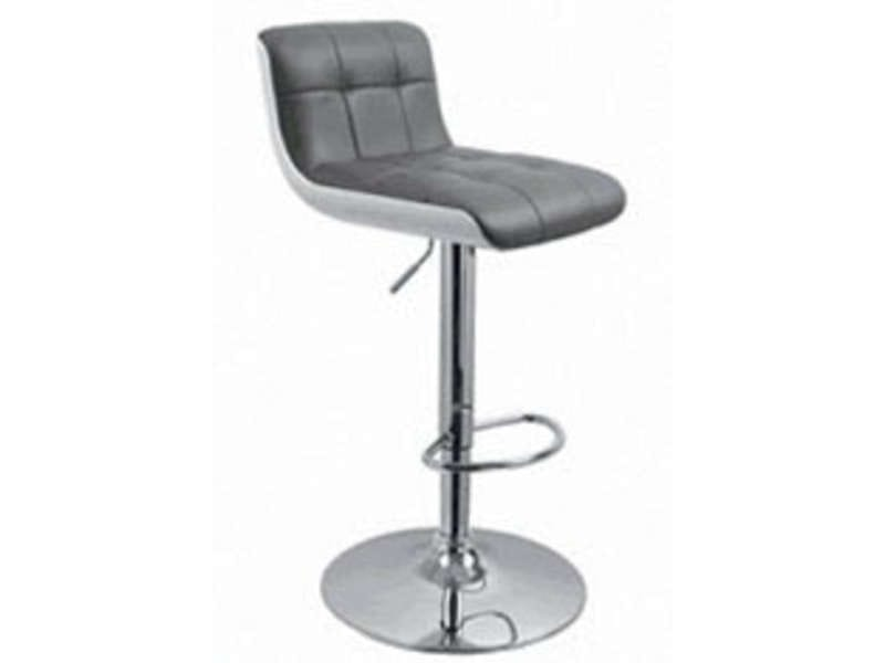 tabouret de bar wharf coloris gris vente de chaise de cuisine conforama. Black Bedroom Furniture Sets. Home Design Ideas