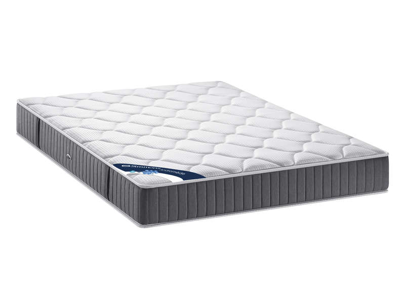 matelas sommier 160x200 cm simmons androm de vente de ensemble matelas et sommier conforama. Black Bedroom Furniture Sets. Home Design Ideas