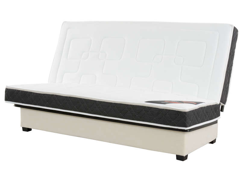 Structure clic clac 130 cm matelas n 4 nightitude nest for Canape 130 cm