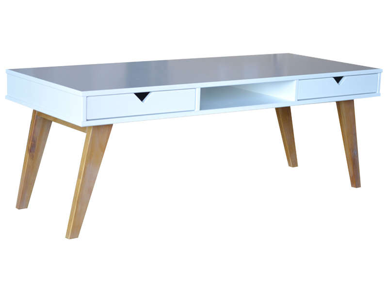 Table basse avec poufs integres malakoff - Table basse avec tabourets integres ...