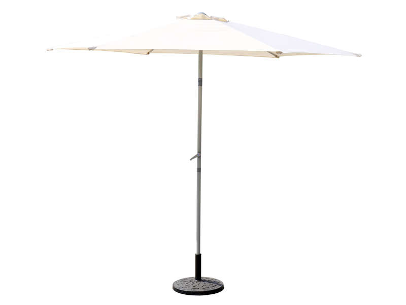 parasol droit 235 cm manisa coloris beige vente de parasol tonnelle store et voile d 39 ombrage. Black Bedroom Furniture Sets. Home Design Ideas