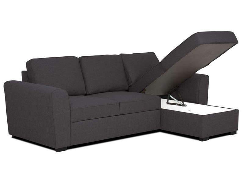 Canape convertible angle conforama montpellier design for Canape loft convertible conforama