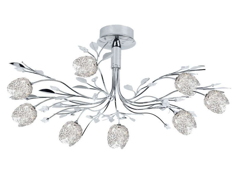 Lustre adriana vente de lustre et suspension conforama for Lustre conforama