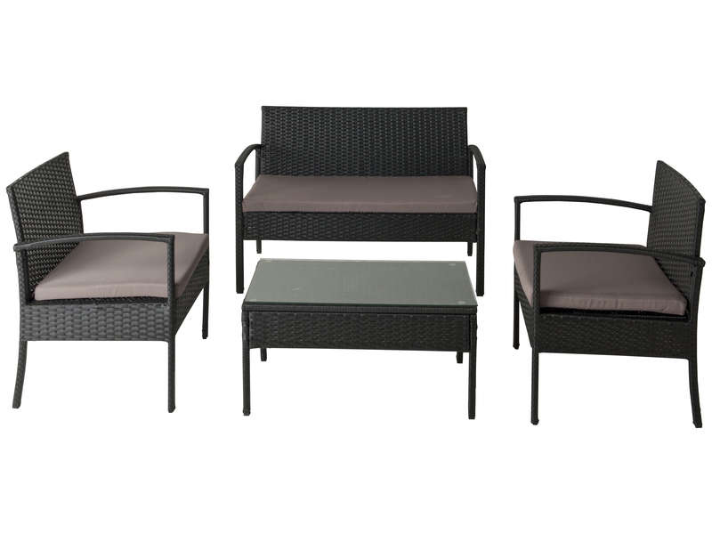 salon de jardin milhos vente de salon de jardin conforama. Black Bedroom Furniture Sets. Home Design Ideas