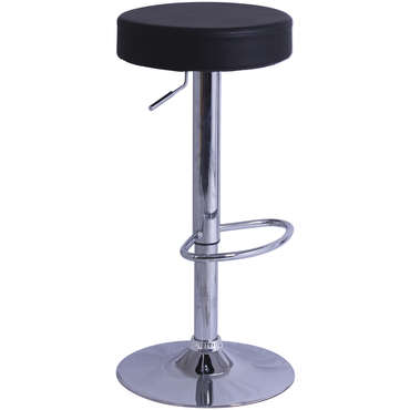Tabouret de bar de cuisine rump coloris noir vente de for Bar cuisine conforama
