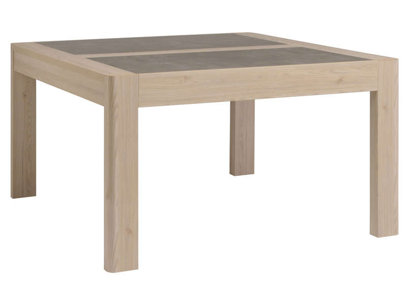 Table a manger fumay table de lit a roulettes Table sejour carree