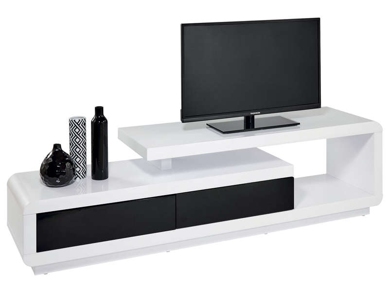 meuble tv winner 2 vente de meuble tv conforama. Black Bedroom Furniture Sets. Home Design Ideas