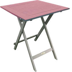 Table de jardin 65 cm pliante
