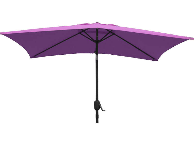 parasol sans pied 130 cm cuba coloris aubergine vente de. Black Bedroom Furniture Sets. Home Design Ideas