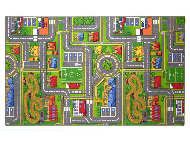 tapis enfant 100x165 cm playcity vente de tapis enfant. Black Bedroom Furniture Sets. Home Design Ideas