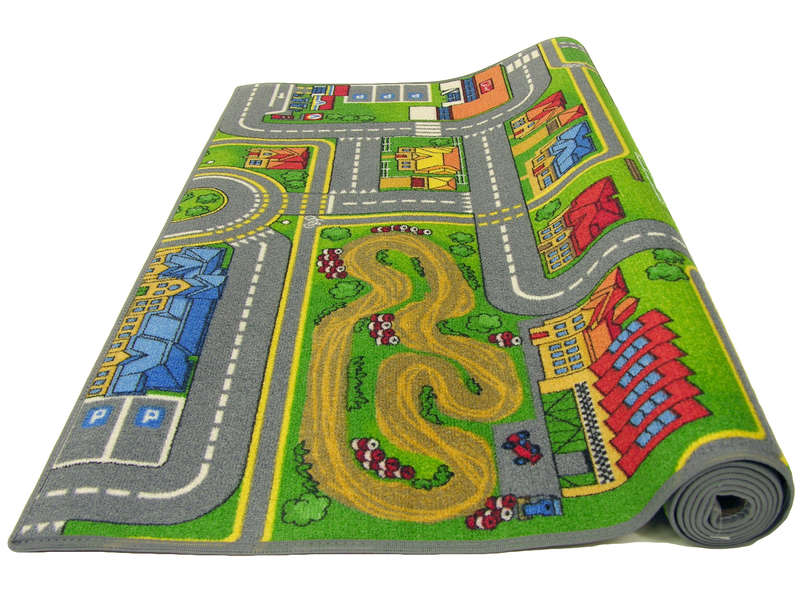 tapis enfant 100x165 cm playcity vente de tapis enfant conforama. Black Bedroom Furniture Sets. Home Design Ideas