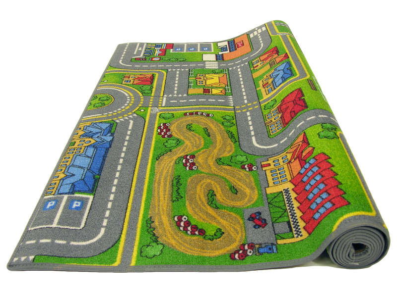 tapis enfant 140x200 cm playcity vente de tapis enfant. Black Bedroom Furniture Sets. Home Design Ideas