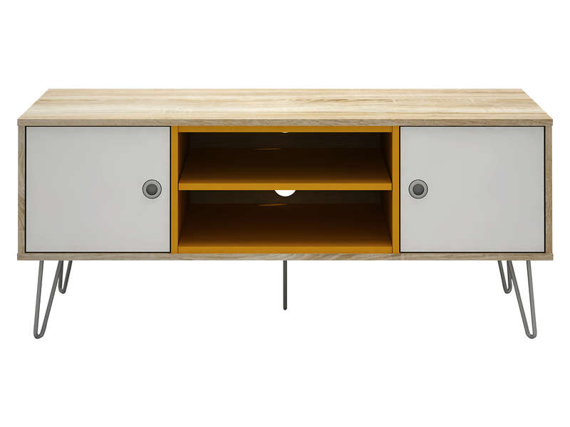 Meuble tv bristol vente de meuble tv conforama for Meuble tv scandinave 110 cm