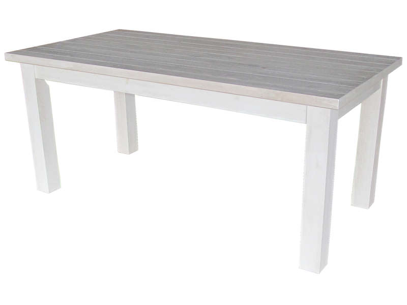 Table cuisine en pin conceptions de maison for Ikea table rectangulaire