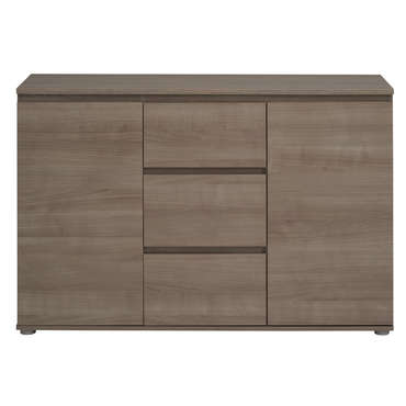 Enfilade neo coloris noyer vente de buffet bahut for Conforama buffet salon