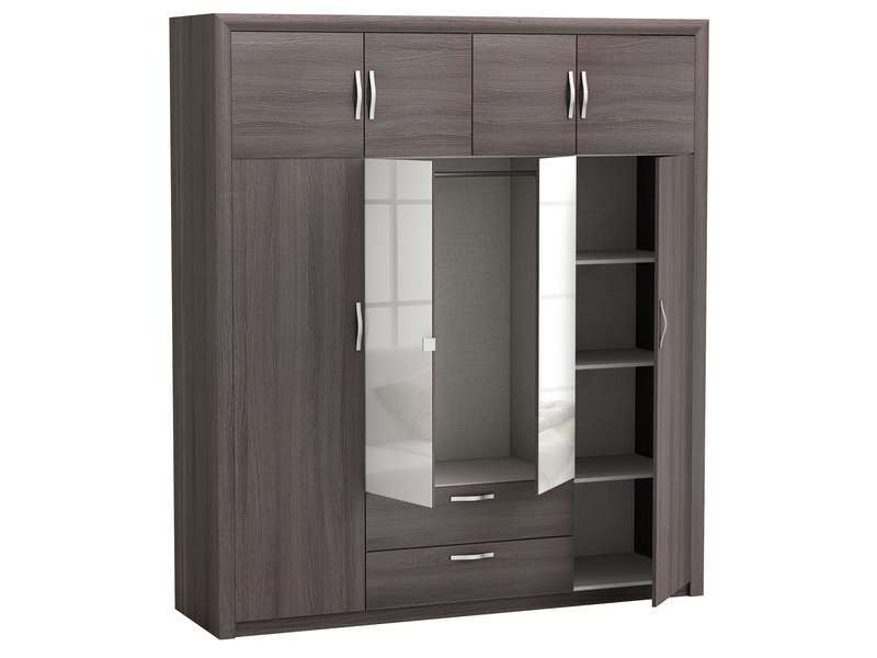 armoire grande hauteur conforama id e inspirante pour la conception de la maison. Black Bedroom Furniture Sets. Home Design Ideas