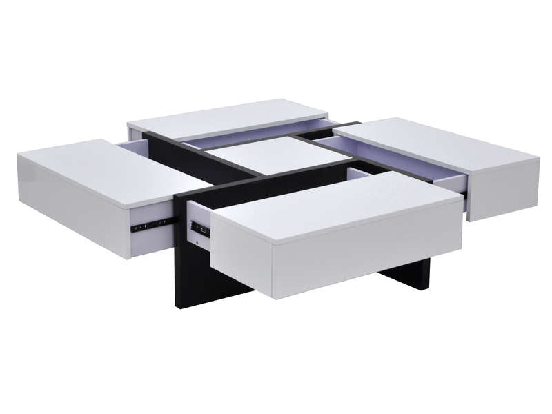 Table basse mozaic vente de table basse conforama - Table basse avec tiroir pas cher ...