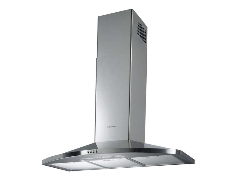 Hotte décorative 90 cm ELECTROLUX EFC90465OX