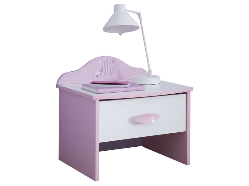 Achat chevets chambre meubles discount page 1 for Tables de chevet conforama