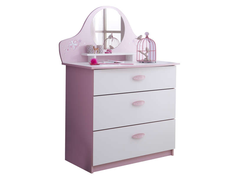 Commode tiroirs papillon vente de commode enfant conforama
