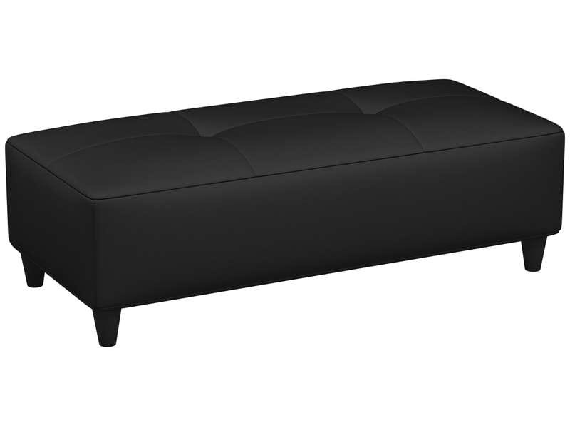 banc charlie 5 coloris noir vente de pouf conforama. Black Bedroom Furniture Sets. Home Design Ideas