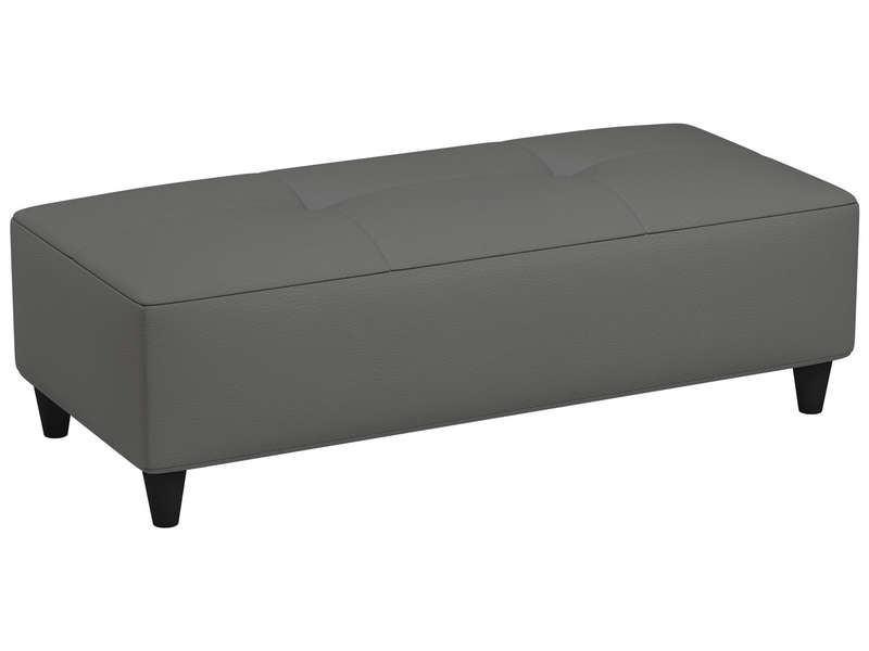 banc charlie 5 coloris gris vente de pouf conforama. Black Bedroom Furniture Sets. Home Design Ideas