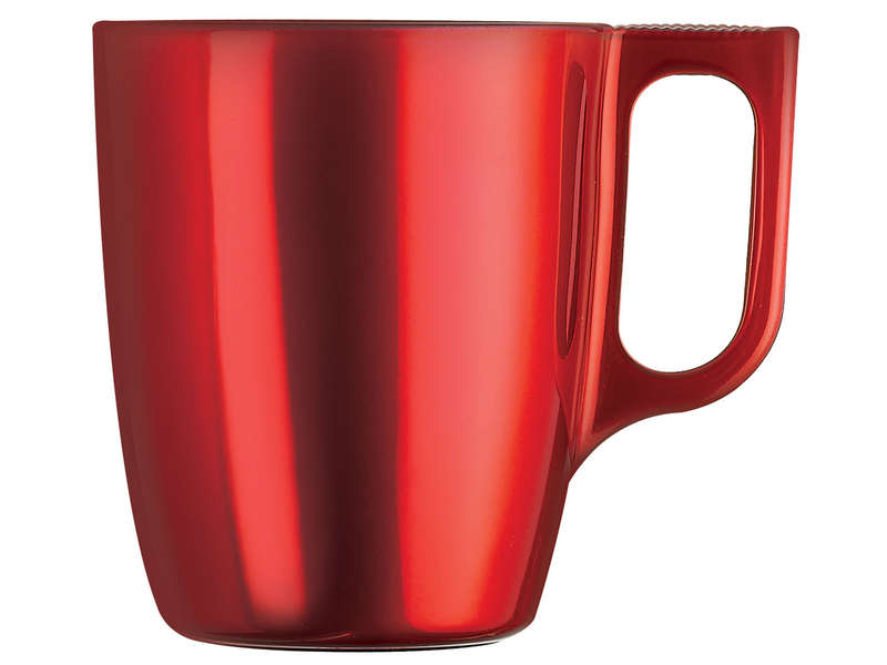 Mug 25 cl coloris rouge chez conforama for Mug isotherme micro ondable