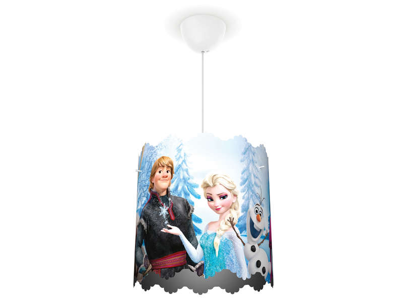 Suspension 33 8 cm reine des neiges vente de luminaire enfant conforama for Luminaire multi suspension colore enfant
