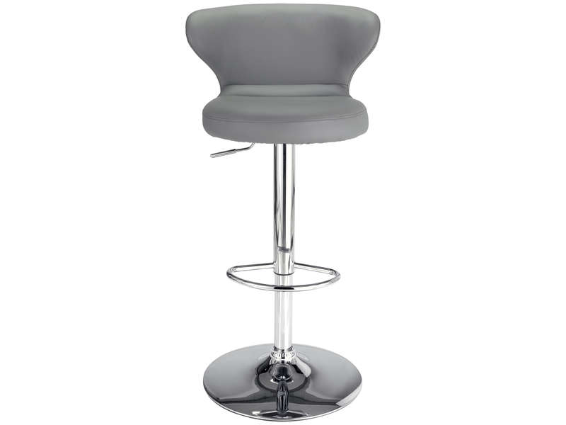 tabouret de bar arthur coloris gris vente de chaise de cuisine conforama. Black Bedroom Furniture Sets. Home Design Ideas