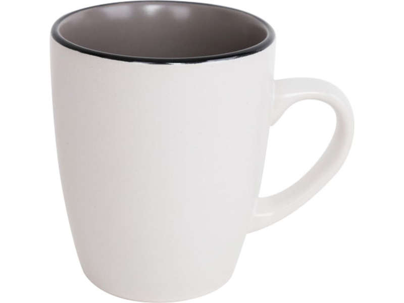Mug 9 cm perle coloris gris chez conforama for Mug isotherme micro ondable