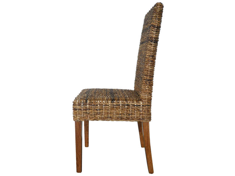 Lot De 2 Chaises En Rotin ABACA