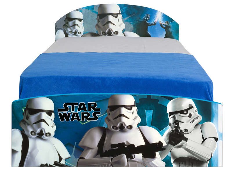 lit 90 x 190 cm star wars vente de lit enfant conforama. Black Bedroom Furniture Sets. Home Design Ideas