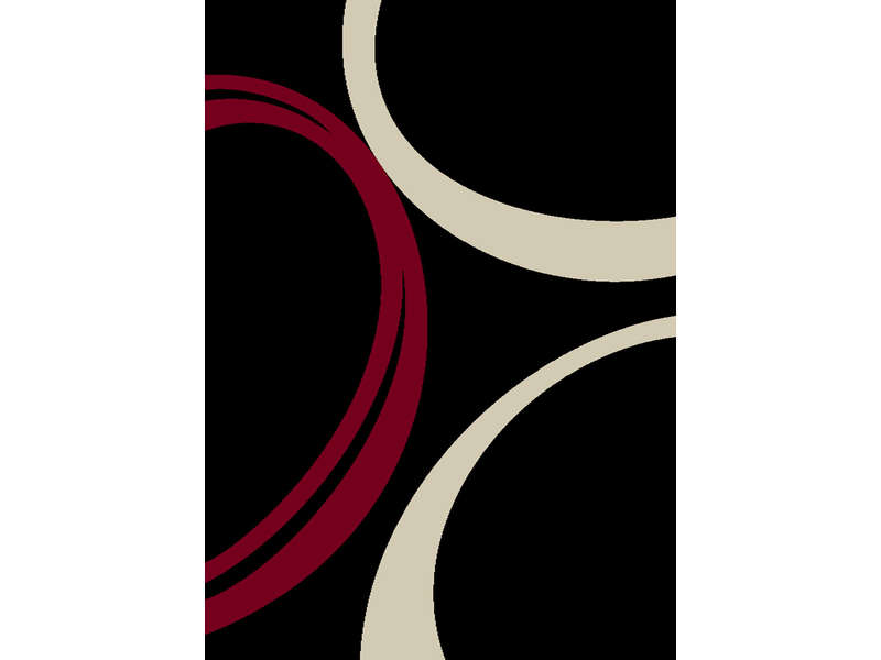 Tapis 200x290 cm twin vente de tapis conforama for Salon noir rouge et blanc