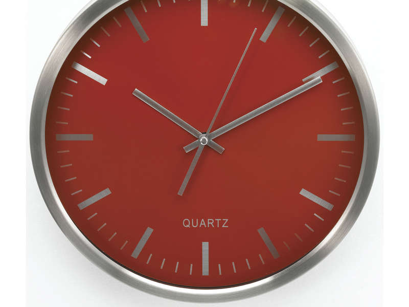 Horloge cuisine rouge rouge noir with horloge cuisine rouge cheap horloge cuisine rouge with for Pendule rouge cuisine