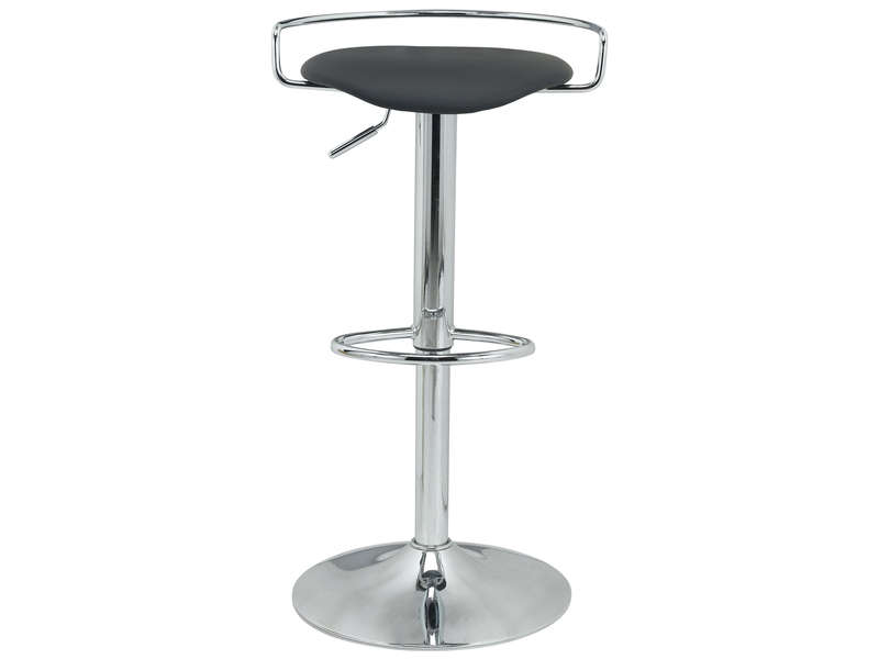 tabouret de bar ilian coloris noir chez conforama. Black Bedroom Furniture Sets. Home Design Ideas
