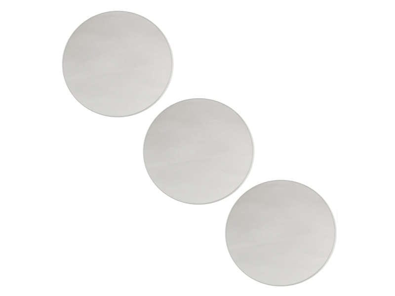 Set de 3 miroirs 20x20 cm for Mini miroir rond