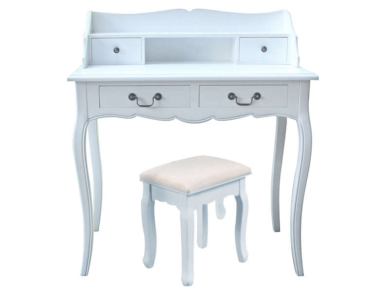 Meuble de bureau conforama fs inspire for Coiffeuse meuble conforama