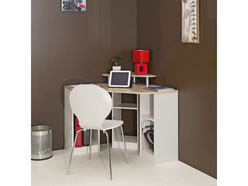 bureau d 39 angle vente de bureau conforama. Black Bedroom Furniture Sets. Home Design Ideas