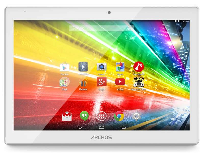 tv son multimedia informatique tablette tactile  pouces archos c platinum go p