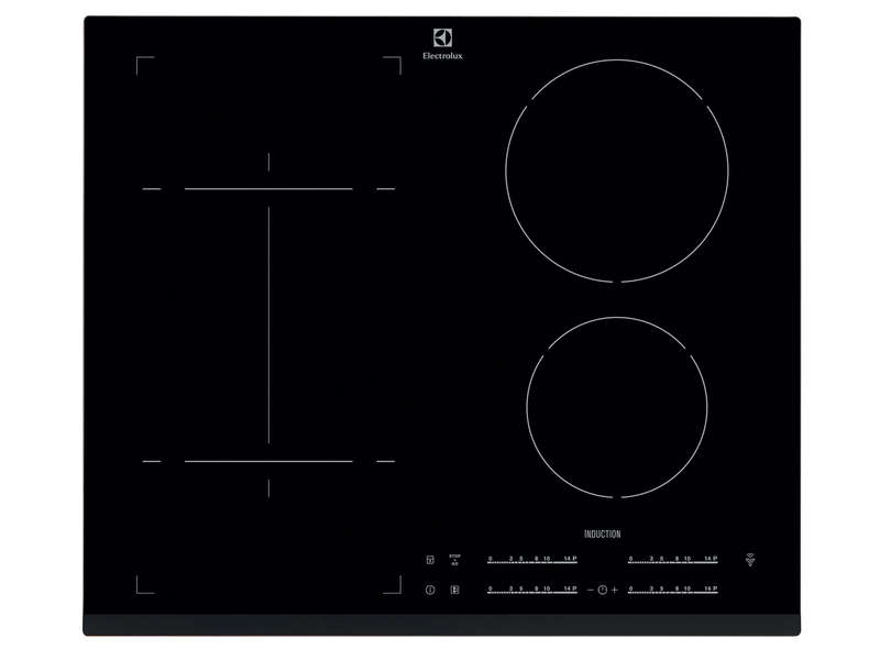 Table de cuisson induction 4 foyers ELECTROLUX EHI6540FHK