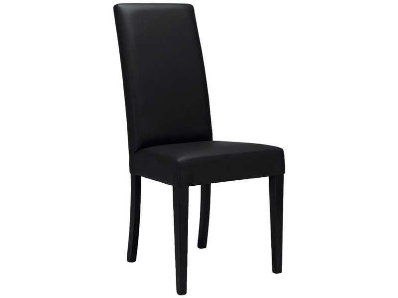 Chaise java 4 coloris noir vente de chaise conforama for Chaise conforama