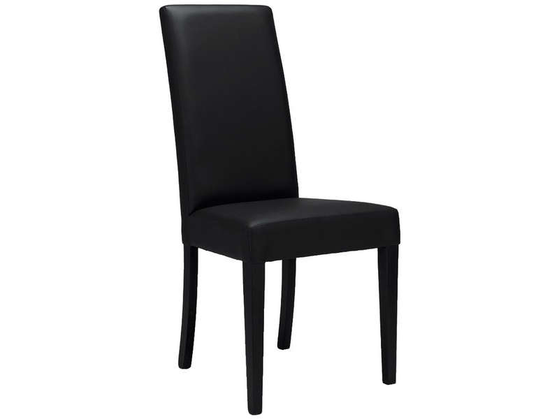 Chaise java 4 coloris noir vente de chaise conforama for Chaise sejour noir