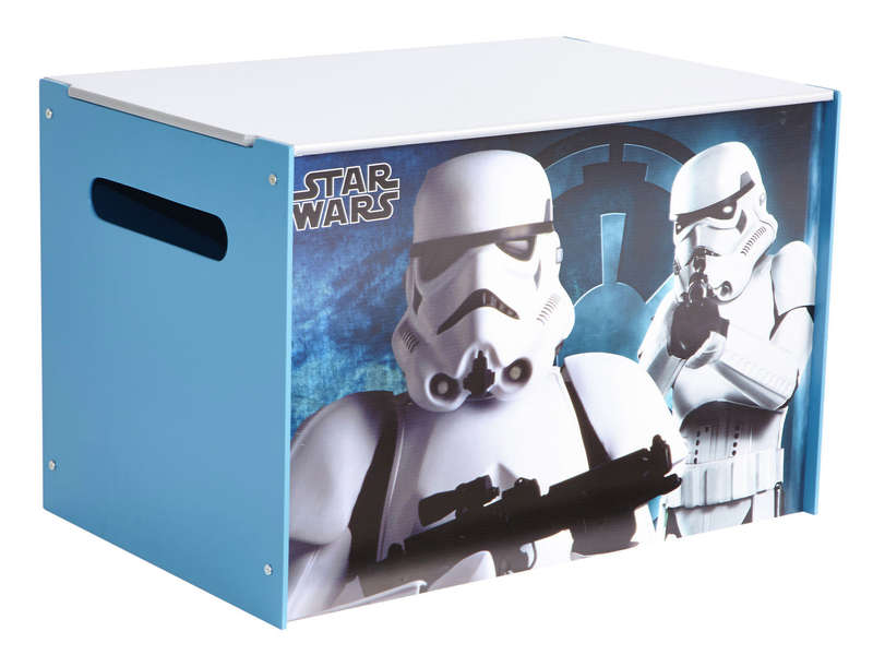coffre jouet star wars vente de petit rangement enfant conforama. Black Bedroom Furniture Sets. Home Design Ideas