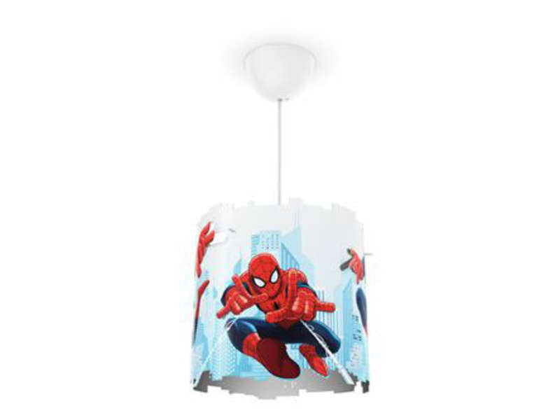 suspension 26 cm spiderman vente de luminaire enfant conforama. Black Bedroom Furniture Sets. Home Design Ideas