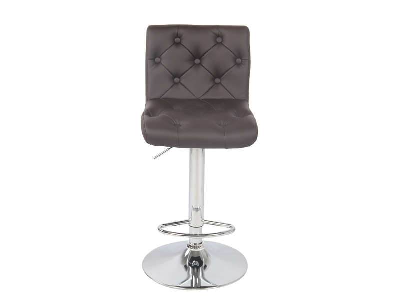 tabouret de bar chester 2 coloris taupe chez conforama. Black Bedroom Furniture Sets. Home Design Ideas