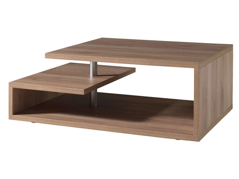 Table basse bois massif la redoute for Table basse scandinave la redoute