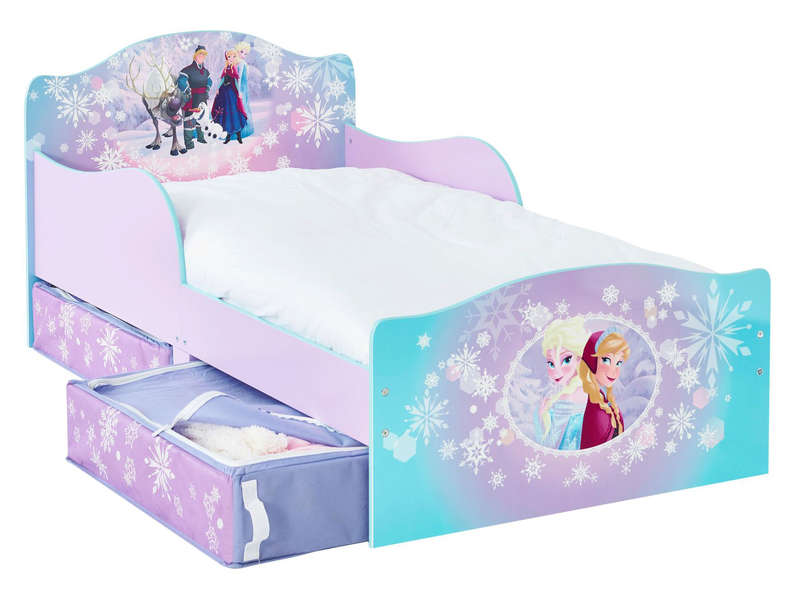 lit 70x140 cm disney reine des neiges vente de lit enfant conforama. Black Bedroom Furniture Sets. Home Design Ideas