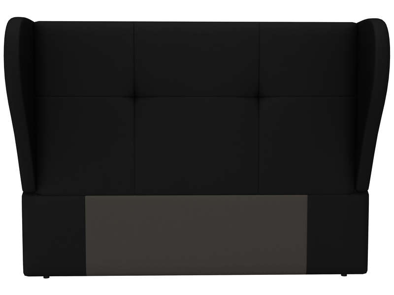 t te de lit 200 cm stella coloris noir en pu vente de t te de lit conforama. Black Bedroom Furniture Sets. Home Design Ideas